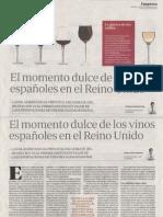 Los vinos españoles en el Reino Unido
