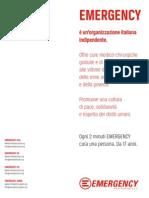 EMERGENCY - Factsheet 2011 (Italian version)
