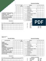 DepEd Form 138 (GR. I - VI)
