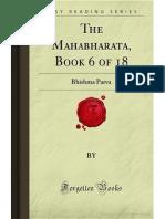 The Mahabharata- Book 6 of 18- Bhishma Parva