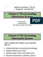 Ch03 the Accounting Information Systems