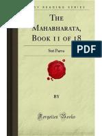 The Mahabharata- Book 11 of 18- Stri Parva