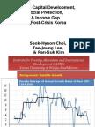Human Capital Development, Social Protection, and Income Gap in Post-Crisis Korea (Presentation)