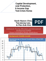 Human Capital Development, Social Protection, and Income Gap in Post-Crisis Korea (Presentation)
