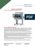 Asepto-Fill | Labor aseptische Abfüllung und Versiegelung von OMVE - FS212