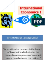 Chapter 1_Introduction to International Economics