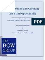 The Bow Group - The Eurozone & Germany - Crisis & Opportunity (4)