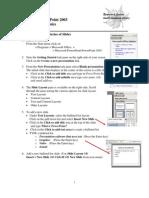 PPT2003 Basic Tutorial