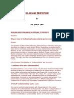 Islam and Terrorism - English book by Dr Zakir Naik