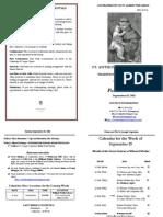 Bulletin 2011-09-18