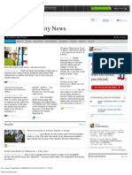Health and Safety News, 2011-09-19 Edition