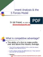 APIM, Lect 2, Env Analysis, P5M