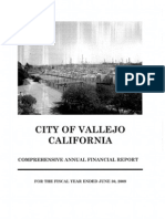 City of Vallejo - 050610 - Comprehensive Annual Financial Report
