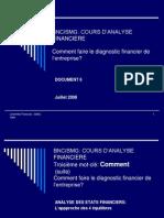 Diagnostic Financier de l Entreprise1