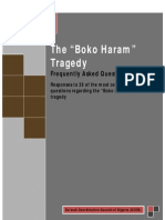 The Boko Haram Tragedy - 26 FAQs by DCCN