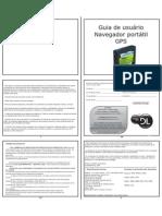 Manual do usuário GPS G31