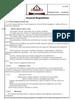 General Regulation English