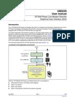 ST7540 Power Line Modem Demokit
