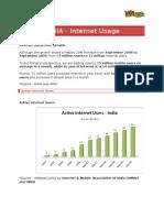 India Internet Usage