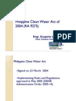 Per Lipayon_Clean Water Act