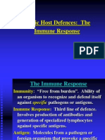 Specific Defences - Humoral and Cell Immunity1