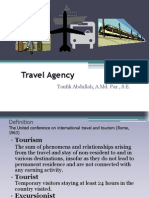 1. Travel Agency