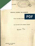 Survival Against the Elements 1975