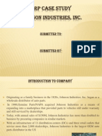 ERP Case Study-Johnson Industries
