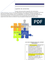 Retos y soluciones de gestión de contenidos