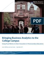 Bringing Business Analytics to the College Campus