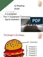 Burger Model, Expansion Techniques & 5 Diamonds
