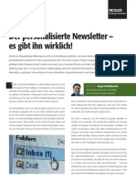 nexum Trendbeitrag Personalisierter Newsletter