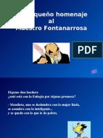 Homenaje a Fontanarrosa