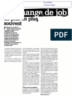 On Change de Job de Plus en Plus Souvent