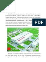 Assignment 2 - Honda