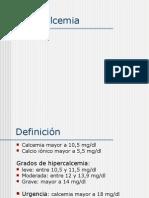 Hipercalcemia Clase