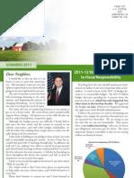 Rep. Evankovich Summer 2011 Newsletter
