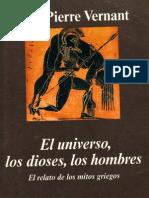 Vernant, Jean - El Universo Los Dioses Los Hombres