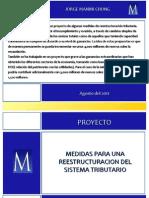 Propuesta de Reforma Tributaria del Peru 2011