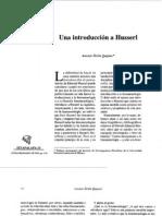 Introducción a Husserl-Zirión