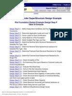 Pile Foundation Design Example - US Units - Design Step 9