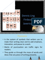 Simplified Punctuations
