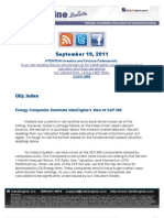 Energy Companies Dominate ValuEngine's View of S&P 500