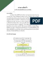 หน่วยที่ 3 การสร้างเว็บเพจด้วยภาษา HTML
