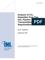 CO2 Separation Analysis From Coal - Robertson