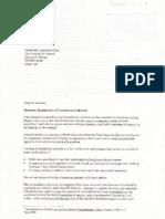 Greenwood Evidence on Lobbying 2001