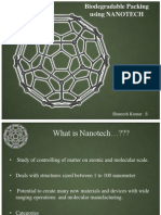 Biodegradable Packing Using NANOTECH