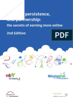Sept 2011. Passion, Persistence & Partnership 2nd Edition. Presented by The Institute of Fundraising and NfpSynergy