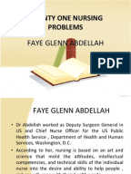 practical application of faye glenn abdellah s theory This edition offers 2 new chapters and a concise outline and summary of each theory's most  gap between theory and application  faye glenn abdellah.