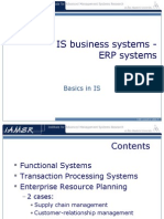 Introduction to is ERP